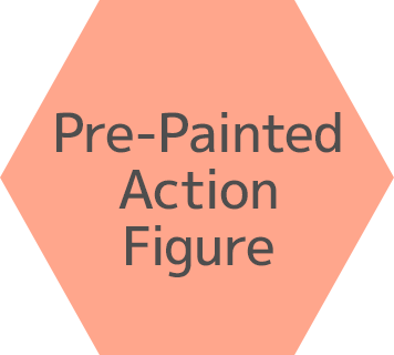 Pre-Painted Action Figure