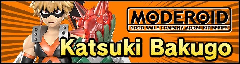 MODEROID Katsuki Bakugo